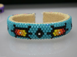 New Born Baby Cuff Bracelet Native American Che... - $29.99