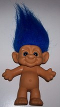 Troll with Blue Hair and Eyes by Forest - $10.00