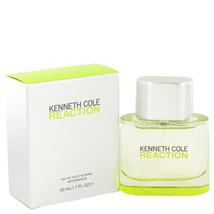 Kenneth Cole Reaction Eau De Toilette Spray 1.7 Oz For Men  - $38.66