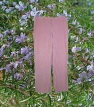 liz claibourne pastel pink corduroy pants trousers size 8 petite 8p medi... - $54.99