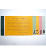 Knott's Berry Farm Super Bonanza ABCD Adult Ticket Booklet Book - $19.59