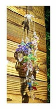 H&D Hanging Crystal Guardian Angel Window Sun Catcher Rainbow Maker 38mm... - $16.90