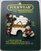 "Boyds FolkWear ""Nome Sweet Home""  Resin FolkArt Pin~ #26310 -New - $9.99"