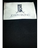 Black Twill  Full Weight Wool Suiting Fabric   By The Yard   MSRP $695 - $10.89
