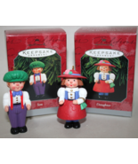 Hallmark Son and Daughter German Nut Cracker Ornaments 1998 - $7.50