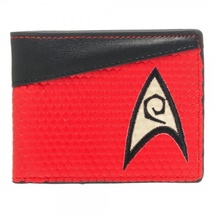Star Trek Engineering Red Wallet *NEW* - $17.99