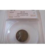 1911-D ,  Lincoln Penny , Obverse Scrape , Obv. Lamination , SEGS , VG-10 - $15.00