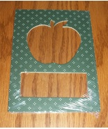 Apple green pindot double mat opening 5x7 frami... - $1.25