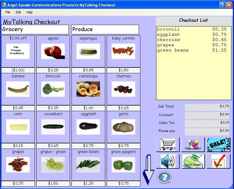 Primary image for Angel Speaks Products - MyTalking Checkout - Learn How To Use A Cash Register!