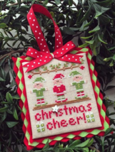 Christmas Cheer #5 Classic Ornament Series cross stitch Country Cottage Needle - $5.40
