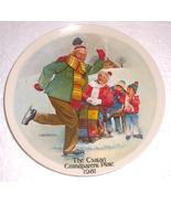 """""""The Skating Lesson"""" Grandparent Collectible Pl... - $80.49"""