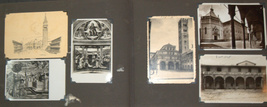 Postcard Album 1938-61 Europe Italy Berlin Paris America Greece Turkey Vienna
