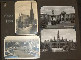 Postcard Album 1938-61 Europe Italy Berlin Paris America Greece Turkey Vienna image 4