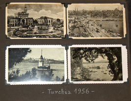 Postcard Album 1938-61 Europe Italy Berlin Paris America Greece Turkey Vienna image 7
