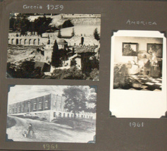 Postcard Album 1938-61 Europe Italy Berlin Paris America Greece Turkey Vienna image 9