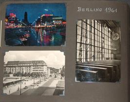 Postcard Album 1938-61 Europe Italy Berlin Paris America Greece Turkey Vienna image 13