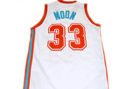 Jackie Moon #33 Flint Tropics Semi Pro Movie Basketball Jersey White Any Size image 2