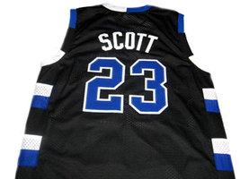 Nathan Scott #23 One Tree Hill Men Basketball Jersey Black Any Size image 2