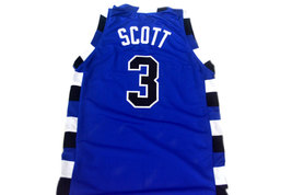 Lucas Scott #3 One Tree Hill Movie Basketball Jersey Blue Any Size image 2