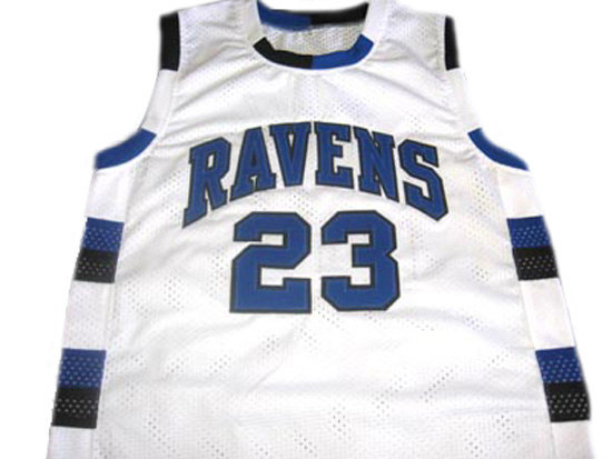 Nathan Scott #23 One Tree Hill Ravens Movie Basketball Jersey White Any Size
