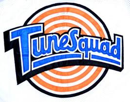 Lola Bunny #10 Tune Squad Space Jam Movie Basketball Jersey White Any Size image 1