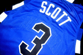 Lucas Scott #3 One Tree Hill Movie Basketball Jersey Blue Any Size image 4