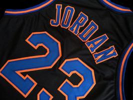 Michael Jordan #23 Tune Squad Space Jam Basketball Jersey Black Any Size image 4