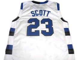 Nathan Scott #23 One Tree Hill Ravens Movie Basketball Jersey White Any Size image 2