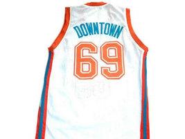 Downtown #69 Flint Tropics Semi Pro Movie Basketball Jersey White Any Size image 2