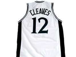 Mateen Cleaves #12 Michigan State Basketball Jersey White Any Size  image 2