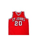 Chris Mullin #20 St John's University Men Basketball Jersey Red Any Size - $34.99