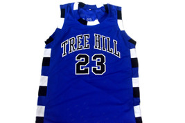 Nathan Scott #23 One Tree Hill Movie Basketball Jersey Blue Any Size image 1