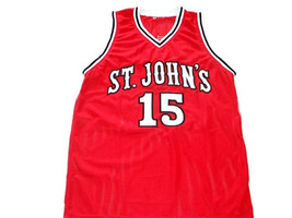 Ron Artest #15 St John's University Basketball Jersey Red Any Size image 1