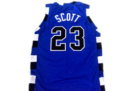 Nathan Scott #23 One Tree Hill Movie Basketball Jersey Blue Any Size image 2