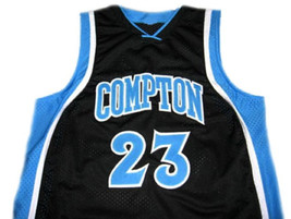 Demar Derozan #23 Compton High School Basketball Jersey Black Any Size image 1