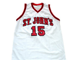 Ron Artest #15 St John's University Basketball Jersey White Any Size image 1