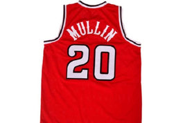 Chris Mullin #20 St John's University Men Basketball Jersey Red Any Size image 2