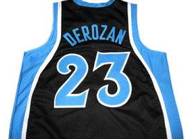 Demar Derozan #23 Compton High School Basketball Jersey Black Any Size image 2