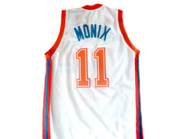 Ed Monix #11 Flint Tropics Semi Pro Movie Basketball Jersey White Any Size image 2