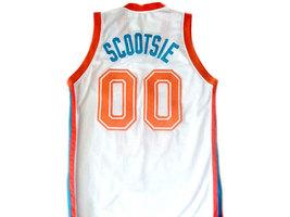 Scootsie Doubleday #00 Flint Tropics Semi Pro Basketball Jersey White Any Size image 2