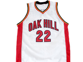 Carmelo Anthony #22 Oak Hill High School Basketball Jersey White Any Size image 1