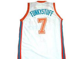 Funkystuff #7 Flint Tropics Semi Pro Movie Basketball Jersey White Any Size image 2