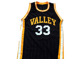Larry Bird #33 Valley High School Basketball Jersey Black Any Size image 1