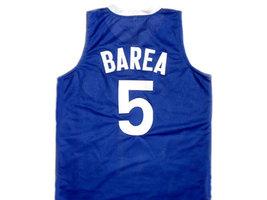Jose JJ Barea #5 Puerto Rico Basketball Jersey Blue Any Size image 2