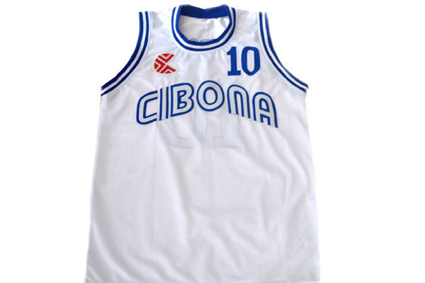 Drazen Petrovic #10 Cibona Croatia Basketball Jersey White Any Size