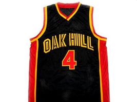 Rajon Rondo #4 Oak Hill High School Basketball Jersey Black Any Size image 1