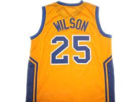 Ben Wilson #25 Simeon High School Basketball Jersey Yellow Any Size image 2
