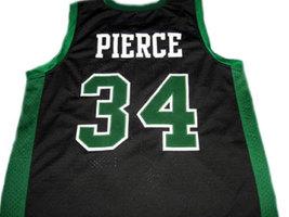 Paul Pierce #34 Inglewood High School Basketball Jersey Black Any Size image 2