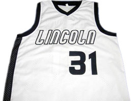 Sebastian Telfair #31 Lincoln High School Basketball Jersey White Any Size image 1