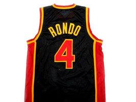 Rajon Rondo #4 Oak Hill High School Basketball Jersey Black Any Size image 2